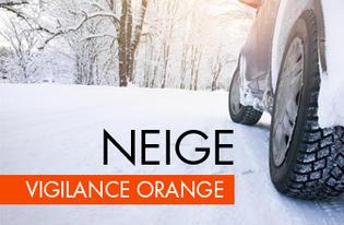 Alerte orange neige-verglas